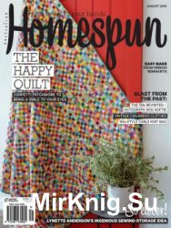 Australian Homespun Vol 17.08 №159, 2016