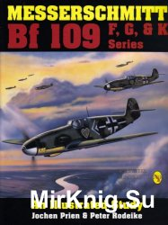 Messerschmitt Bf 109 F, G, and K series