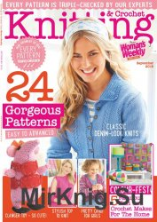 Knitting & Crochet from Woman's Weekly - September 2016