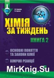 Хімія за тиждень. Основні поняття та закони хімії. Хімічні реакції. Книга 2
