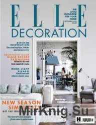 Elle Decoration - September 2016 (UK)