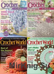 Архив журнала Crochet World за 2008 год