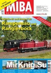 MIBA Die Eisenbahn im Modell 2016-08