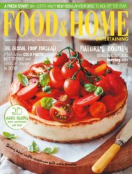 Food & Home Entertaining - January 2016