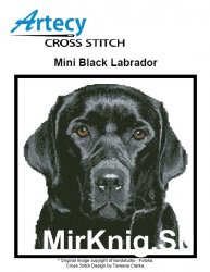 Mini Black Labrador (Artecy Cross Stitch)