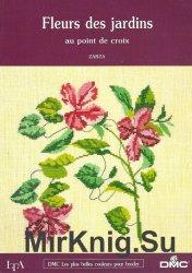 Zarza - Fleurs des jardins. Au point de croix