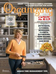 Martha Stewart Living – Organizing 2016