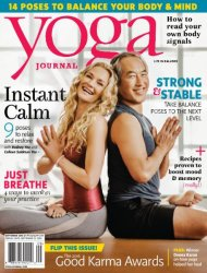 Yoga Journal USA – September 2016
