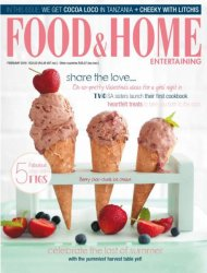 Food & Home Entertaining – February 2016