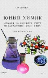 Юный химик. Описание 100 химических опытов по занимательной химии в быту. Д ...