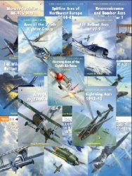 Osprey Aircraft of the Aces  — Books: 1-102,104-123,125-129,131