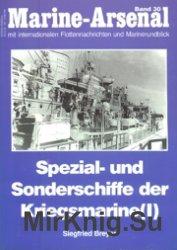 Marine-Arsenal 030 - Spezial- und Sonderschiffe der Kriegsmarine (I)