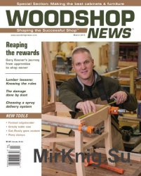 Woodshop News №3 - March 2015