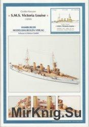 SMS Victoria Louise 1899 - HMV модель из бумаги