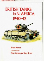 British Tanks in North Africa 1940-42