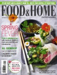 Food & Home Entertaining - September 2016