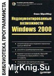 Недокументированные возможности Windows 2000
