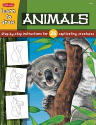 Learn to Draw: Wild Animals (Draw and Color)