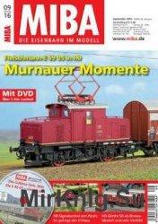 MIBA Die Eisenbahn im Modell 2016-09