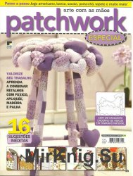 Arte com as maos Patchwork especial no.7