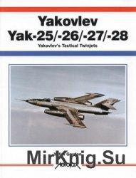Yakovlev Yak-25/26/27/28: Yakovlev's Tactical Twinjets (Aerofax)
