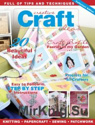 Creative Craft Ideas Vol.1 No.1 2016