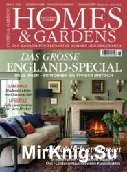 Homes & Gardens Germany - September/Oktober 2016