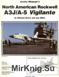 North American Rockwell A3J/A-5 Vigilant (Aerofax Minigraph 09)