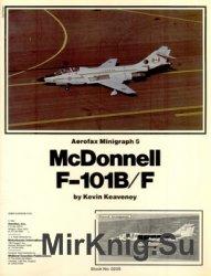 McDonnell F-101B/F (Aerofax Minigraph 05)