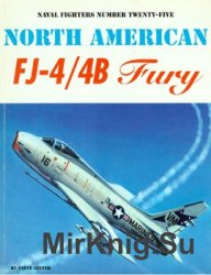 North American FJ-4/4B Fury (Naval Fighters 25)