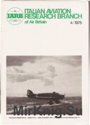 Italian Aviation Research Branch of Air Britain 1975-07/08 (4)