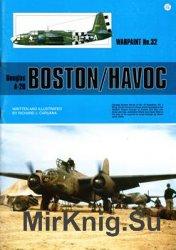 Douglas A-20 Boston/Havok (Warpaint 032)