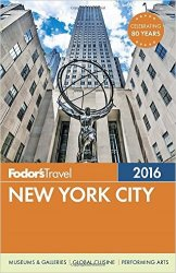Fodor's New York City 2016