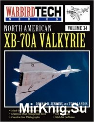 North American XB-70A Valkyrie (Warbird Tech 34)