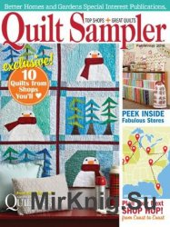Quilt Sampler — Fall-Winter 2016
