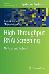 High-Throughput RNAi Screening Methods and Protocols