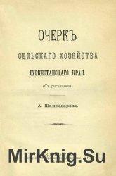 Очерк сельского хозяйства Туркестанского края