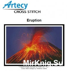 "Artecy Cross Stitch ""Eruption"""