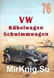 VW Kubelwagen Schwimmwagen (Wydawnictwo Militaria 76)