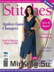 Australian Stitches - Vol. 25 No.1 2016