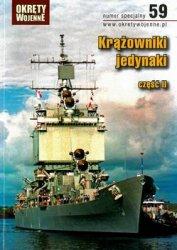 Krazowniki Jedynaki czesc II (Okrety Wojenne Numer Specjalny 59)