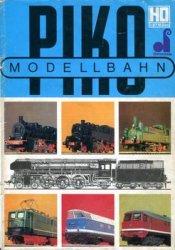 Piko Modellbahn H0 Catalog 1978