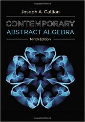 Contemporary Abstract Algebra, 9th Edition