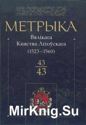 Метрика Великого Княжества Литовского. Книга 43