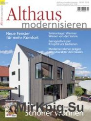 Althaus Modernisieren - Oktober/November 2016