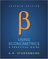 Using Econometrics: A Practical Guide, 7th Edition