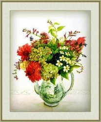 I love cross stitch Bouguet 11 0112