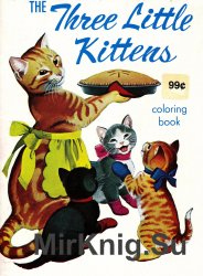 Three Little Kittens Coloring Book