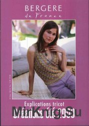 Bergere de France - Explications tricot. Creations ete 2000