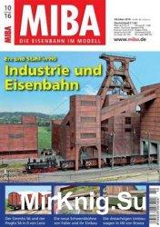 MIBA Die Eisenbahn im Modell 2016-10